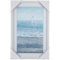 Melrose Ocean Framed Wall Art