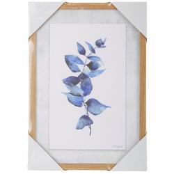 Watercolor Leaf Framed Wall Art