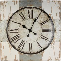 46'' Distressed Wood Clock
