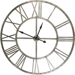 Melrose 46'' Rustic Metal Clock