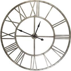 46'' Rustic Metal Clock