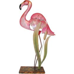 Flamingo Capiz Table Lamp