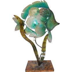 Fish Capiz Table Lamp