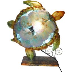 Sea Turtle Capiz Table Lamp