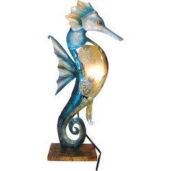 Seahorse Capiz Table Lamp