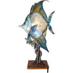 Tropical Fish Capiz Table Lamp