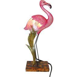 Flamingo & Seaweed Capiz Table Lamp