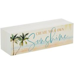 Create Your Own Sunshine Block Sign