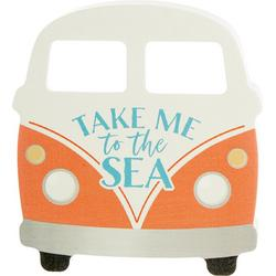 Take Me To The Sea Block Sign