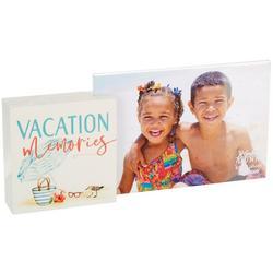 Vacation Memories Photo Frame Block