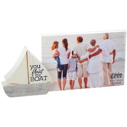 You Float My Boat Photo Frame Block