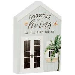 P. Graham Dunn Coastal Living Is The Life For Me Block Sign