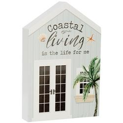 Coastal Living Is The Life For Me Block Sign