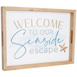 P. Graham Dunn Seaside Escape Wood Tray