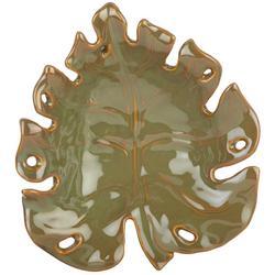 Ceramic Palm Leaf Plate