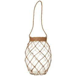 Coastal Home Rope Glass Candle Jar