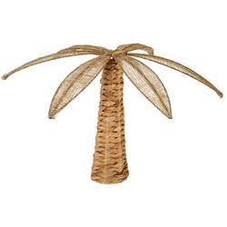 Weaved Palm Tree Tabletop Decor