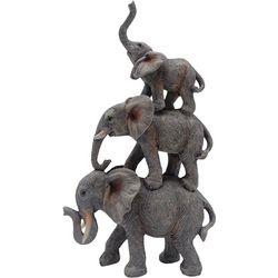 Fancy That Triple Stacked Elephant Decor