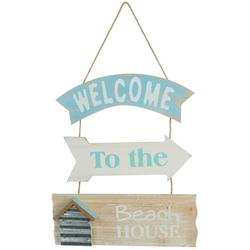 Welcome To The Beach House Wall Sign