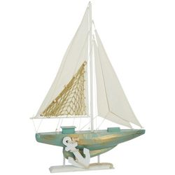Fancy That Sailboat Tabletop Decor