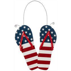 Fancy That Americana Flip Flop Wall Sign