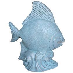 Stone Fish Tabletop Decor