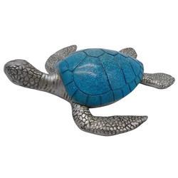 Large Resin Sea Turtle Figurine