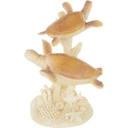 Stacked Sea Turtle Statue
