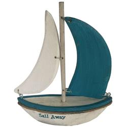 Sail Away Sailboat Tabletop Decor