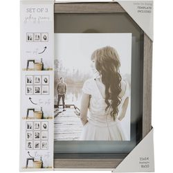 Enchante 3-pc. 11'' x 14'' Photo Frame Set
