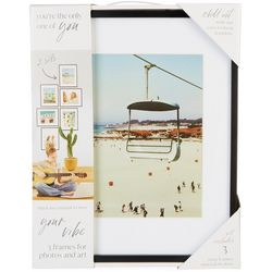 Enchante 3-pc. 11 x 14 Photo Frame Set