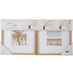 Enchante 6-pc. 8'' x 8'' Wood Photo Frame Set