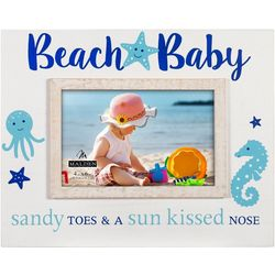 Malden 4'' x 6'' Beach Baby Photo Frame