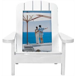Malden 4'' x 6'' White Beach Chair Frame