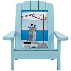 Malden 4'' x 6'' Turquoise Beach Chair Frame