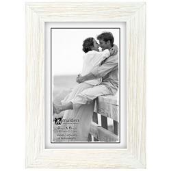 4'' x 6'' White Wash Photo Frame