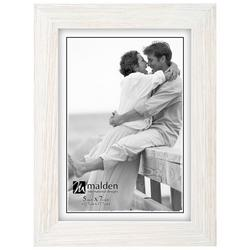 5'' x 7'' White Wash Photo Frame