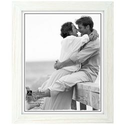 Malden 8'' x 10'' White Wash Photo Frame