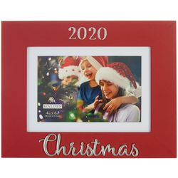 Malden 4'' x 6'' 2020 Christmas Photo Frame