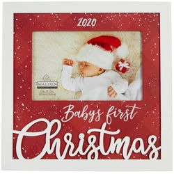 Malden 4'' x 6'' 2020 Baby's First Christmas Photo Frame