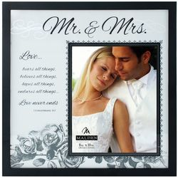 Malden 8'' x 10'' Mr. & Mrs. Glass Frame