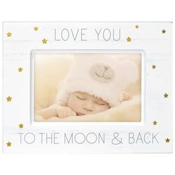 Malden 4'' x 6'' Love You To The Moon & Back Photo Frame