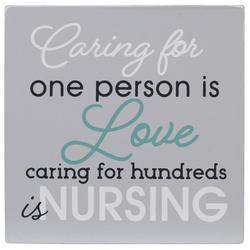 Caring For Hundreds Is Nursing Block