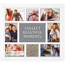 Malden 8 Opening Letterboard Collage Photo Frame