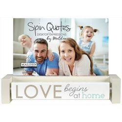 Malden Love Begins At Home Photo Frame
