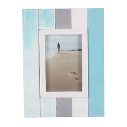 Young's Blue Wash 4'' x 6'' Photo Frame