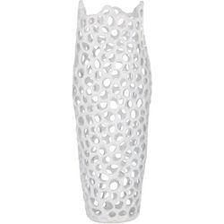 Three Hands Corp. Ceramic Pierced Vase