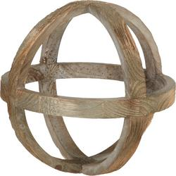 Wooden Orb Decor