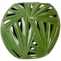 Leaf Pierced Vase