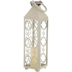 Three Hands  20'' Metal Lantern